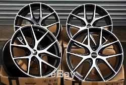 18 Novus 01 Bp Roues Alliage pour Opel Adam Astra MK5 & Vxr
