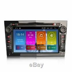 7 Android 9.0 Satnav GPS BT Wifi Radio Piano Noir pour Opel Astra Mk5 H Vxr