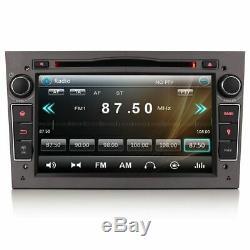 7 Sat Nav GPS BT Radio Lecteur DVD Stereo pour Opel Astra H Mk5 Astra C D Vxr