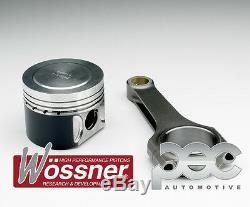 8.8 1 Wossner Forgé Pistons + PEC Acier Barres Pour Opel Astra Vxr Z20LEH 2.0T
