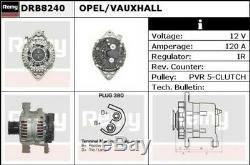 Alternateur Neuf pour Opel Astra Mk V 2.0 Vxr 2009-2010