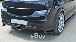Arrière Approche Volets Opel Astra H (pour OPC / Vxr) Aspect Carbone