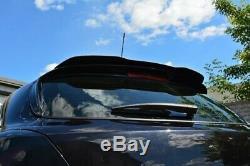 Arrière Spoiler Aileron Tour Opel Astra H (pour OPC / Vxr) Noir Brillant