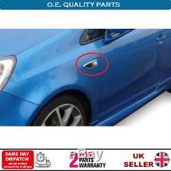 Clignotant Cadre Bordure Set pour Opel Corsa E Adam OPC Vxr 13250944