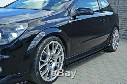 Côté Tasse Atteindre Opel Astra H (pour OPC / Vxr) Noir Brillant