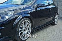 Côté Tasse Atteindre Opel Astra H (pour OPC / Vxr) Noir Mat