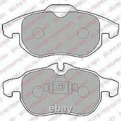 Essieu Avant Frein Disques + Plaquettes de Set pour Opel Astra 2.0 Vxr 2009-2010