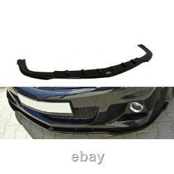 Lame De Pare-Chocs Avant Opel Astra H (pour Opc / Vxr) Carbon Look