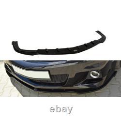 Lame De Pare-Chocs Avant Opel Astra H (pour Opc / Vxr) Gloss Black