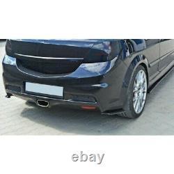 Lame Du Pare Chocs Arrière Opel Astra H (for Opc / Vxr) Gloss Black