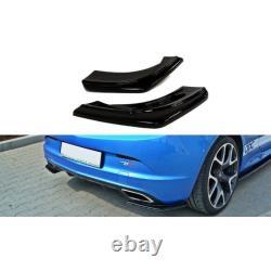 Lame Du Pare Chocs Arrière Opel Astra J Opc / Vxr Gloss Black