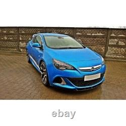 Lame Du Pare-Chocs Avant Opel Astra J Opc / Vxr Nurburg Carbon Look