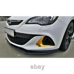 Lame Du Pare-Chocs Avant Opel Astra J Opc / Vxr V. 1 Carbon Look
