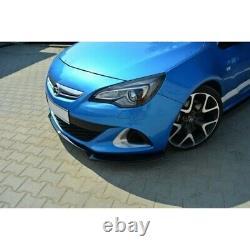 Lame Du Pare-Chocs Avant Opel Astra J Opc / Vxr V. 2 Carbon Look
