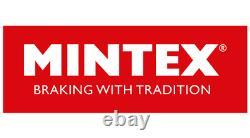 MINTEX Avant + Arrière Disques de Frein + Coussinets pour Opel Astra GTC 2.0 Vxr