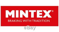 MINTEX Essieu Avant Frein Disques + Set Plaquettes Pour Opel Astra GTC 2.0 Vxr
