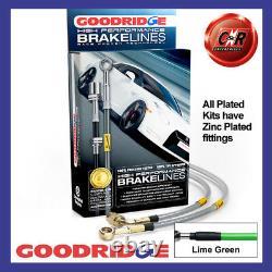 Opel Astra J GTC 2.0T Vxr 12-15 Citron G Goodridge Frein Durites SVA1350-4P-LG