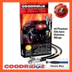Opel Astra J GTC Vxr 12-15 Ss El Bleu Goodridge Frein Durites SVA1350-4C-EB