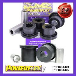 PFF80-1401/02 Powerflex Opel Astra MK6 J GTC Vxr OPC 10-15 Fr Paliers Bras