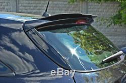 Pages Arrière Spoiler Aileron Tour Opel Astra H (pour OPC / Vxr) Noir Mat