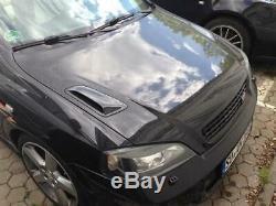 Pour Opel Astra G GTC Hotte Charbon Lüfterhutzen Ventilateur RAM Air Hotte Vxr