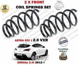 Pour Opel Astra J GTC 2.0 Vxr 280BHP 2012- Neuf 2 X avant Ressort Jeu de