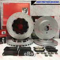 Pour Opel Astra J GTC Vxr avant / Arrière Performance Disques de Frein