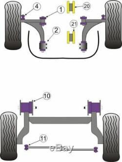 Powerflex Manipulation Pack pour Opel Astra J MK6 GTC Vxr 2.0T PF80K-1003