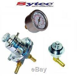 Régulateur de Pression Carburant Sytec Kit +Jauge Opel Astra H Corsa