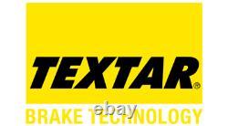 TEXTAR Essieu Arrière Frein Disques + Coussinets pour Opel Astra GTC Mk 2.0 Vxr