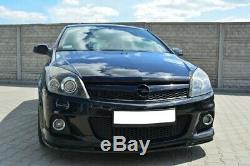 Tasse Lèvre de Spoiler Avant Approche Pour Opel Astra H OPC / Vxr Nurburg Noire