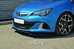 Tasse Lèvre de Spoiler Avant Approche Pour Opel Astra J OPC / Vxr V. 2 Charbon