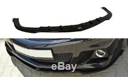 Tasse Lèvre de Spoiler Opel Astra H (pour OPC / Vxr) Noir Mat
