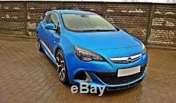 Tasse Lèvre de Spoiler Opel Astra J OPC / Vxr Nuerburg Noir Brillant