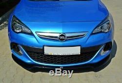 Tasse Lèvre de Spoiler Opel Astra J OPC / Vxr V. 2 Noir Mat