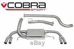 VX23 Cobra Échappement pour Opel Astra J Vxr 12 Système Dos de Chat (Non-écho)